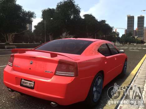 Dodge Charger SRT8 2006 для GTA 4 вид слева