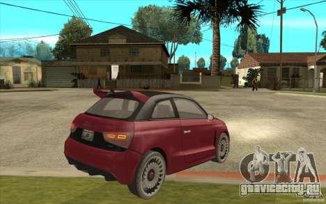 Audi A1 Clubsport Quattro для GTA San Andreas вид справа
