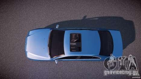 BMW 530I E39 e63 white wheels для GTA 4 вид справа