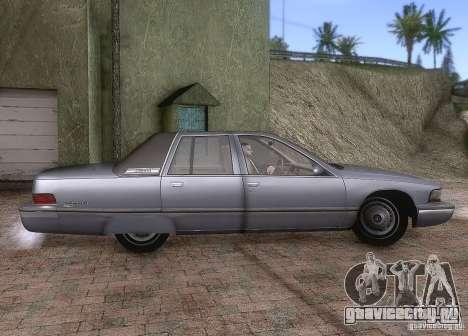 Buick Roadmaster 1996 для GTA San Andreas вид сзади