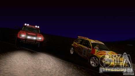Seat Ibiza Rally для GTA San Andreas колёса