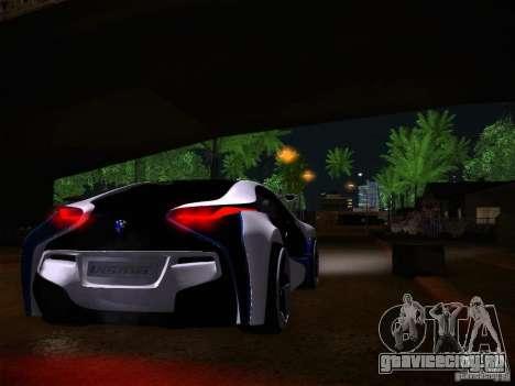 BMW Vision Efficient Dynamics I8 для GTA San Andreas вид сзади