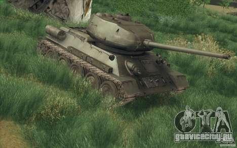 Т-34-85 из игры COD World at War для GTA San Andreas