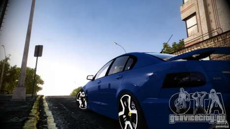 Holden HSV GTS для GTA 4 вид слева