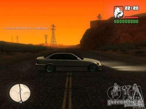 BMW E36 Tuning для GTA San Andreas