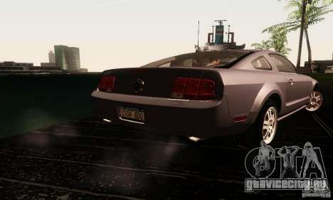 Ford Mustang GT Tunable для GTA San Andreas вид сбоку