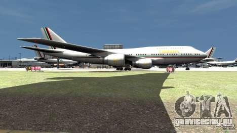 Real Emirates Airplane Skins Flagge для GTA 4 вид сзади слева