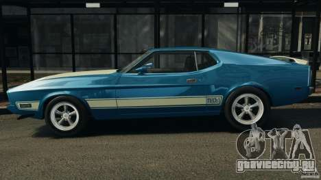 Ford Mustang Mach I 1973 для GTA 4 вид слева
