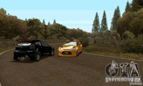 Ford Fiesta Rally для GTA San Andreas вид справа