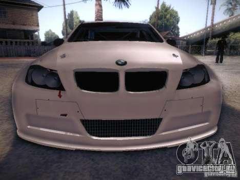 BMW 320SI Drift для GTA San Andreas вид сверху