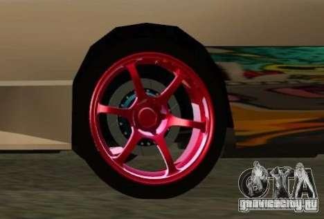 Elegy Drift Masters Final для GTA San Andreas вид изнутри