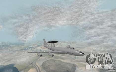 Boeing E-3 Sentry для GTA San Andreas