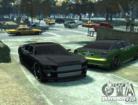 Civilian Buffalo DUB Edition v3.0 для GTA 4 вид сзади слева