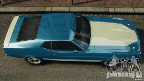 Ford Mustang Mach I 1973 для GTA 4 вид справа