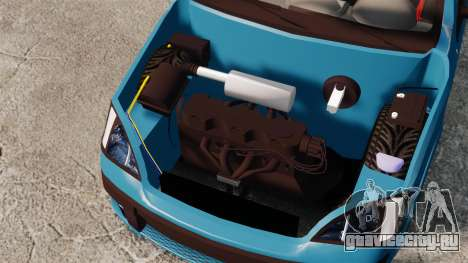 Chevrolet Montana FIXA для GTA 4 вид сзади