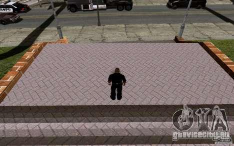 Новая баскетбольная площадка для GTA San Andreas восьмой скриншот
