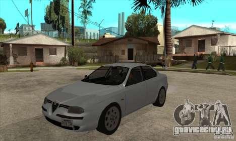 Alfa Romeo 156 2,5V6 2000 для GTA San Andreas