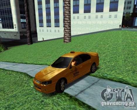 Ford Falcon XR8 Taxi для GTA San Andreas