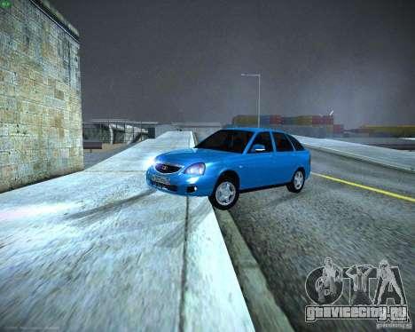 ВАЗ 2172 Рестайл для GTA San Andreas