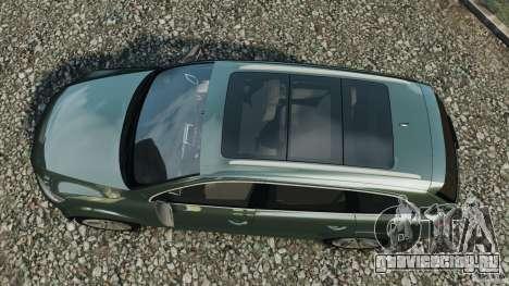 Audi Q7 V12 TDI v1.1 для GTA 4 вид справа
