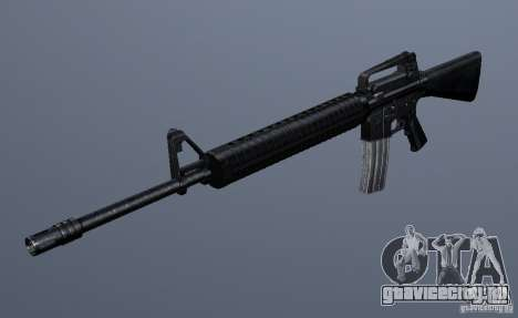 M16A4 для GTA San Andreas второй скриншот