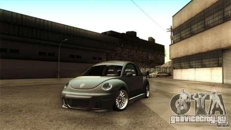 Volkswagen Beetle RSi Tuned для GTA San Andreas вид справа