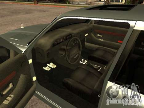 HD Mafia Sentinel для GTA San Andreas вид сзади слева