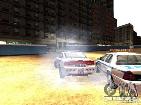 Dodge Charger 2011 Toronto Police для GTA San Andreas вид сбоку