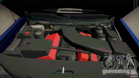 Ford Lobo Lariat Ecoboost 2013 для GTA San Andreas вид изнутри