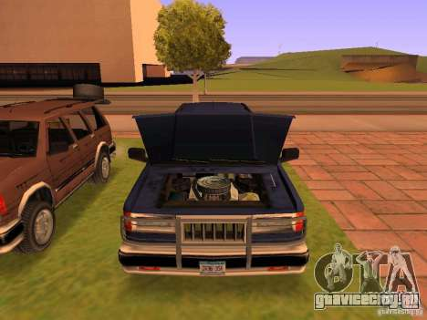 Mountainstalker S для GTA San Andreas двигатель