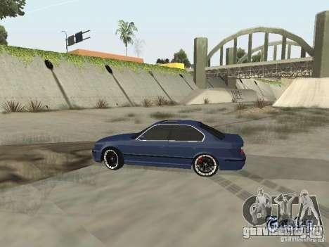 BMW M5 E34 V2.0 для GTA San Andreas вид справа