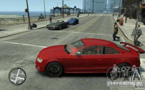 Audi S5 v2 для GTA 4 вид слева