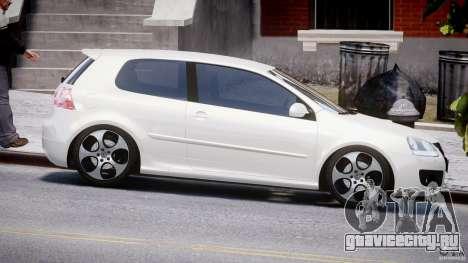 Volkswagen Golf GTI 2006 v1.0 для GTA 4 вид изнутри