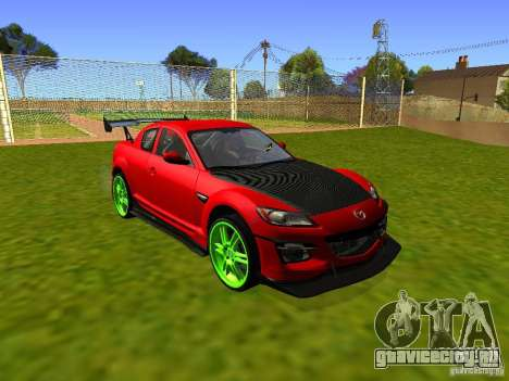 Mazda RX-8 R3 Tuned 2011 для GTA San Andreas