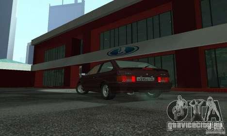 Ваз 2113 Люкс v.1.0 для GTA San Andreas вид сзади слева