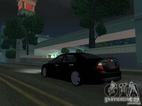 Ford Fusion для GTA San Andreas вид сзади слева