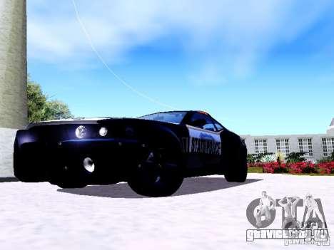 NFS Undercover Cop Car MUS для GTA San Andreas вид слева