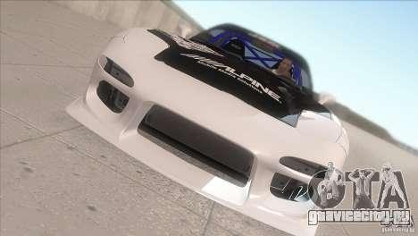 Mazda RX-7 FD K.Terej для GTA San Andreas вид изнутри