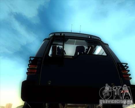 Landrover Discovery 2 Rally Raid для GTA San Andreas вид сзади слева