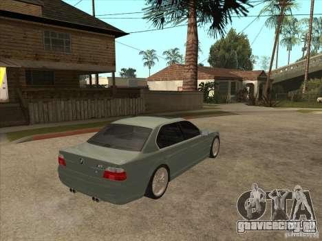 BMW E38 M7 для GTA San Andreas вид справа