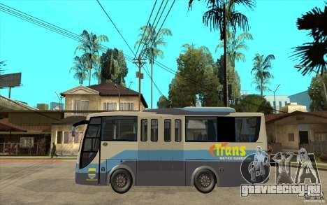 Hino Evo C для GTA San Andreas вид слева