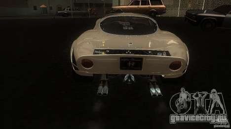 Alfa Romeo Tipo 33 Stradale для GTA San Andreas вид справа