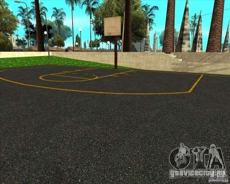 HQ Баскетбольная площадка для GTA San Andreas второй скриншот