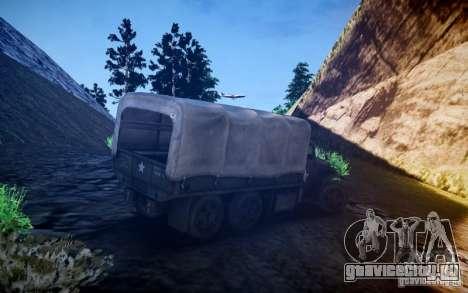 Millitary Truck из Mafia II для GTA 4 вид справа