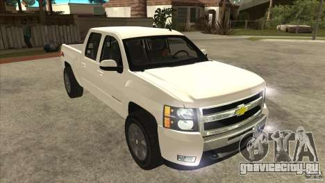 Chevrolet Cheyenne 2011 для GTA San Andreas вид сзади