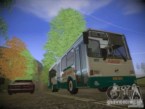 ЛиАЗ-5256.26 v.2.1 для GTA San Andreas вид снизу