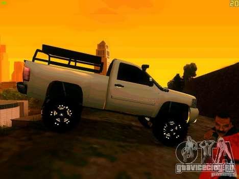 Chevrolet Silverado Final для GTA San Andreas вид справа