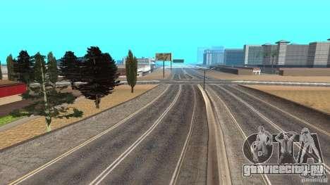 New HQ Roads для GTA San Andreas пятый скриншот