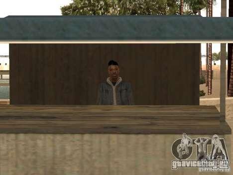 Рынок на пляже для GTA San Andreas второй скриншот