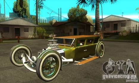 HotRod sedan 1920s для GTA San Andreas